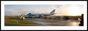Air Force One - panoramabillede i farver