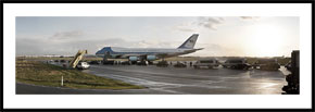 Air Force One - panoramabillede nedtonet