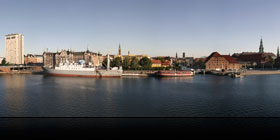 Panorama af Christians Brygge